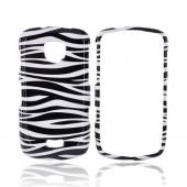 Samsung Droid Charge Hard Case - Black/White Zebra
