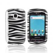 Samsung DoubleTime Hard Case - Black/ Silver Zebra