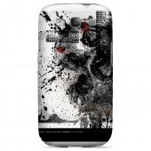 Geeks Designer Line (GDL) Apocalyptic Series Samsung Galaxy S3 Slim Hard Back Cover - Collapse