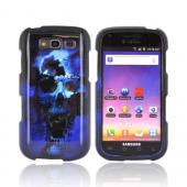 Samsung Galaxy S Blaze 4G Hard Case - Blue Skull