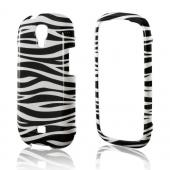 Black/ White Zebra Hard Case for Samsung Stratosphere 2
