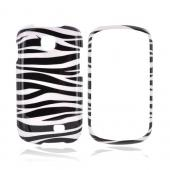 Samsung Galaxy Appeal Hard Case - Black/ White Zebra