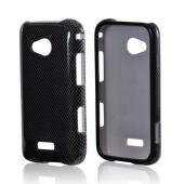 Samsung Galaxy Victory 4G LTE Hard Case - Black/ Gray Carbon Fiber Design