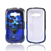 Samsung Galaxy Reverb Hard Case - Blue Skull