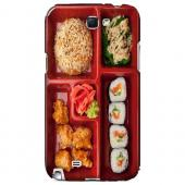 Bento Box - Geeks Designer Line Humor Series Hard Case for Samsung Galaxy Note 2