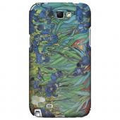 Irises by Vincent van Gogh - Geeks Designer Line Artist Series Hard Case for Samsung Galaxy Note 2