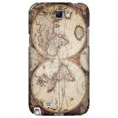 Terrarum Orbis - Geeks Designer Line Map Series Hard Case for Samsung Galaxy Note 2
