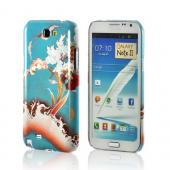 Flower Wave Asian Print Series Slim Hard Case for Samsung Galaxy Note 2 Geeks Designer Line
