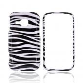 Samsung Galaxy Indulge R910 Hard Case - Black/White Zebra