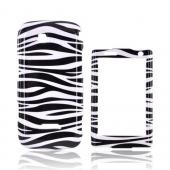 Samsung Sidekick 4G Hard Case - Black &amp; White Zebra