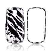 Samsung Gravity Smart Hard Case - Black Zebra &amp; Stars on Silver
