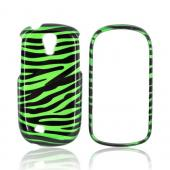 Samsung Gravity Smart Hard Case - Green/ Black Zebra