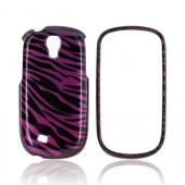 Samsung Gravity Smart Hard Case - Purple/ Black Zebra