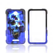 ZTE Score X500 Hard Case - Blue Skull