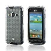 Argyle Clear Crystal Silicone Case for Samsung Galaxy Rugby Pro