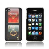 AT&T/ Verizon Apple iPhone 4,iPhone 4S Hologram 3D Hard Case - Casino