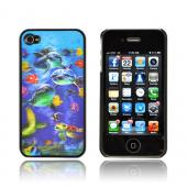 AT&amp;T/ Verizon Apple iPhone 4,iPhone 4S Hologram 3D Hard Case - Sea Life