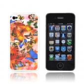 AT&amp;T/ Verizon Apple iPhone 4,iPhone 4S Hologram 3D Hard Case - Light Butterflies