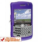 Blackberry Curve 8330, 8320, 8310, 8300 Rubberized Protective Hard Case - Purple