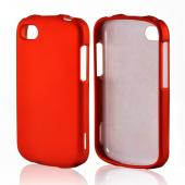 Orange Rubberized Hard Case for Blackberry Q10