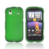 HTC Amaze 4G Rubberized Hard Case - Green