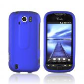 HTC Mytouch 4G Slide Rubberized Hard Case - Blue