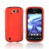 HTC Mytouch 4G Slide Rubberized Hard Case - Orange