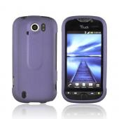 HTC Mytouch 4G Slide Rubberized Hard Case - Purple