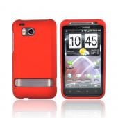HTC Thunderbolt Rubberized Hard Case - Orange