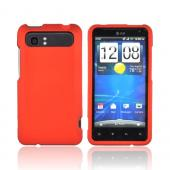 HTC Vivid Rubberized Hard Case - Orange