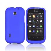 AT&T Fusion U8652 Rubberized Hard Case - Blue