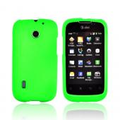 AT&T Fusion U8652 Rubberized Hard Case - Neon Green