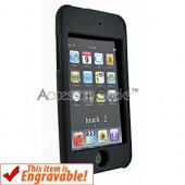 Apple iPod Touch 2 & 3 Rubberized Hard Case - Black