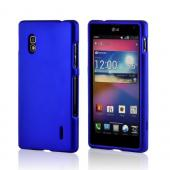 Blue Rubberized Hard Case for LG Optimus G (AT&amp;T)