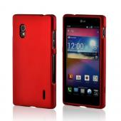 Red Rubberized Hard Case for LG Optimus G (AT&amp;T)