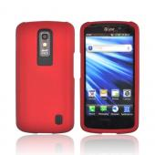 LG Nitro HD Rubberized Hard Case - Red