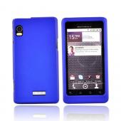 Motorola Droid 2 A955 Rubberized Hard Case - Blue
