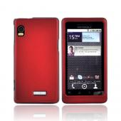 Luxmo Motorola Droid 2 Rubberized Hard Case - Red