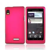 Luxmo Motorola Droid 2 A955 Rubberized Hard Case - Rose Pink