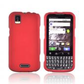 Motorola XPRT MB612 Rubberized Hard Case - Red