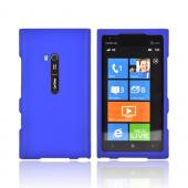 Nokia Lumia 900 Rubberized Hard Case - Blue
