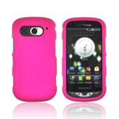 Pantech Breakout Rubberized Hard Case - Rose Pink