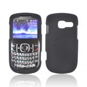 Pantech Link II Rubberized Hard Case - Black