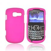Pantech Link II Rubberized Hard Case - Rose Pink