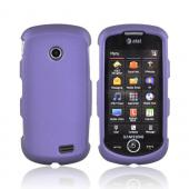Samsung Solstice II A817 Rubberized Hard Case - Purple