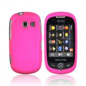 Samsung Flight II A927 Rubberized Hard Case - Hot Pink