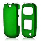 Green Rubberized Hard Case for Samsung Rugby 3