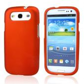 Samsung Galaxy S3 Rubberized Hard Case - Orange