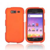 Samsung Galaxy S Blaze 4G Rubberized Hard Case - Orange