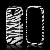 White/ Black Zebra Hard Case for Samsung Stratosphere 2